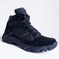 Тактические Ботинки Зимние Tornado Black, фото 1