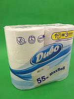 Бумага туалетная  белая (а4) Диво MAX Roll 55 метров (2 слоя) (1 пач)заходи на сайт Уманьпак