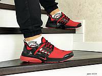 Мужские кроссовки Найк Nike Air Presto, артикул: 8554 красные
