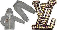 04.09.02 Костюм на змейке «VL» р.26-34, фото 1
