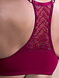 Комплект жіночої нижньої білизни Acousma A6478BC-T6478H, колір Бордовий,  розмір 80B-L, фото 3