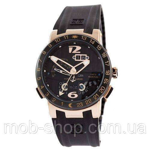 Наручные часы Ulysse Nardin Executive El Toro GMT Perpetual Black-Gold-Black
