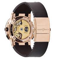 Наручные часы Ulysse Nardin Executive El Toro GMT Perpetual Black-Gold-Black, фото 2