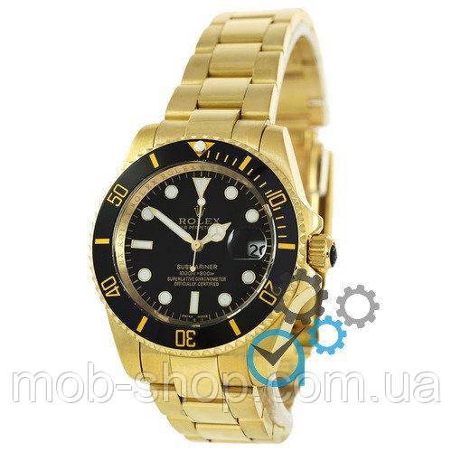 Наручные часы Rolex Submariner AAA Date Gold-Black