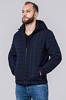 Мужская осенняя куртка Braggard темно-синяя