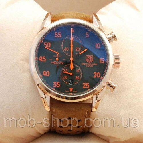 Наручные часы TЕG Hauer Carrera 1887 SpaceX Quartz Gold/Black-Orange 0970816242