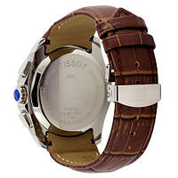 Наручные часы Tissot T-Classic Couturier Chronograph Brown-Gold-White, фото 2