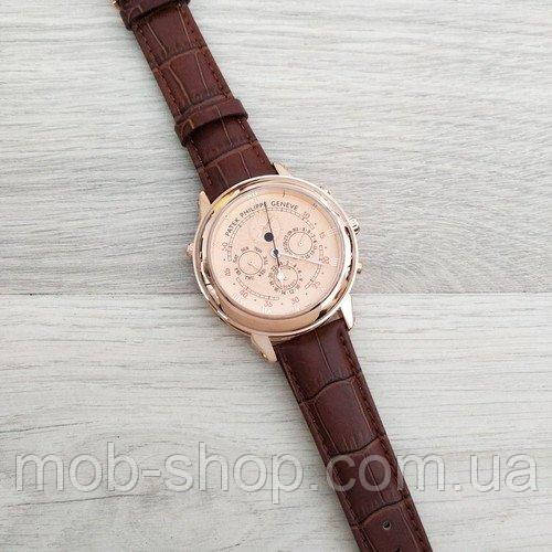 Наручные часы Patek Philippe Grand Complications 5002 Sky Moon Brown-Gold-Milk New