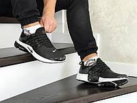 Мужские кроссовки Найк Nike Air Presto, артикул: 8552 черные