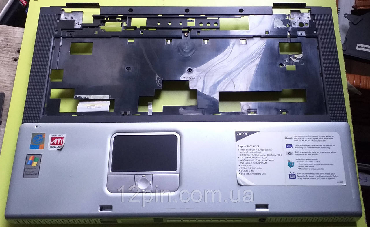 Топкейс  Acer Aspire 1801 WSCi б.у. оригинал