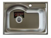 Врезная кухонная мойка Platinum 58*43 (мм) в покрытии satin (матовая), с толщиной 0,8 (мм), фото 1
