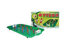 """Настільна гра """"Супер футбол ТехноК"""" 0946 на пружині."""