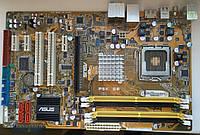 Материнская плата s775 Asus P5K SE (Intel P35, 4xDDR2, 1xPCIE, 4xSATA, 1xIDE ) бу
