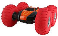 Перевёртыш на радиоуправлении YinRun Speed Cyclone с надувными колесами на батарейках, оранжевый - 139528