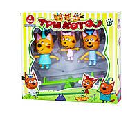 Игровой набор с фигурками Три Кота с качелькой