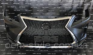 Передний бампер Lexus RX 4-поколение 2016-2019