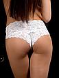Трусики жіночі Acousma P6430H, колір Молочний,  розмір M, фото 2
