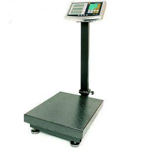 Весы торговые электронные напольные  на 120 кг 30х40 усиленные