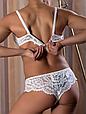 Комплект жіночої нижньої білизни Acousma U6468-1C-P6468, колір Білий,  розмір 85C-XXL, фото 2