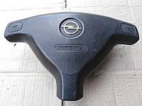 Подушка безопасности, Air Bag водителя Opel Astra G, Zafira A, Опель Астра Г, Зафира А. 90437771.