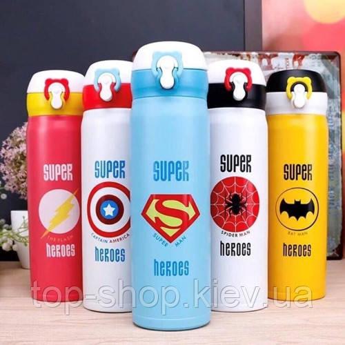 Термос Термокружка Super Heroes (Супер Герой) 500 мл