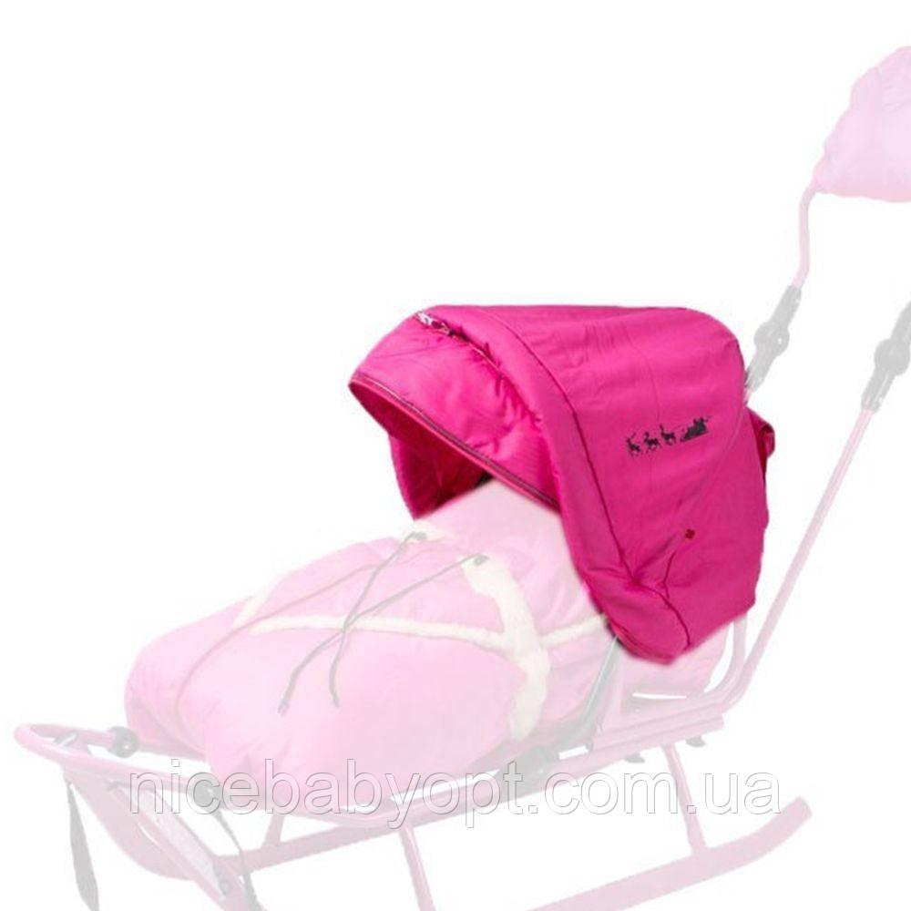 Капюшон для санок Adbor Piccolino Розовый