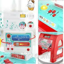 Доктор / Игровой набор доктора со столиком 660-62, (инструменты, звук, свет, 22 предмета) размер 55*77*38 см, фото 2