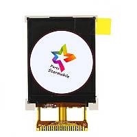 Дисплей для мобильного телефона Nomi i184, original, 20 pin, #KD FPC18T224-A1