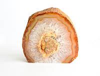 Агатовая жеода с кристаллами горного хрусталя (~350 г.)
