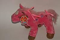 Лошадь мягкая игрушка 0343, муз, 27-29-12см