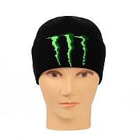 Молодежно-подростовая шапка с отворотом