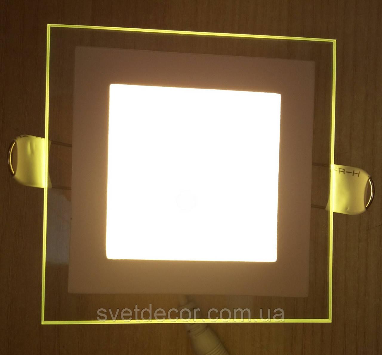 Светодиодный светильник со стеклом Feron AL2111 6W 2700К (теплый свет)