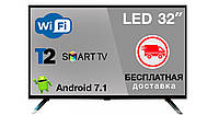Телевизор Grunhelm GTV32T2FS Smart TV+Бесплатная доставка!, фото 1