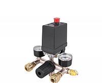 Автоматика для компрессора в сборе (Прессостат) : для 24, 50, 60, 75 л. от 230 В