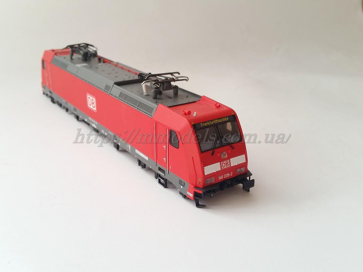 Кузов модели  электровоза BR 146.1 DB VI DB Piko 57934 / 1:87