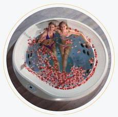 Переливні професійні спа басейни