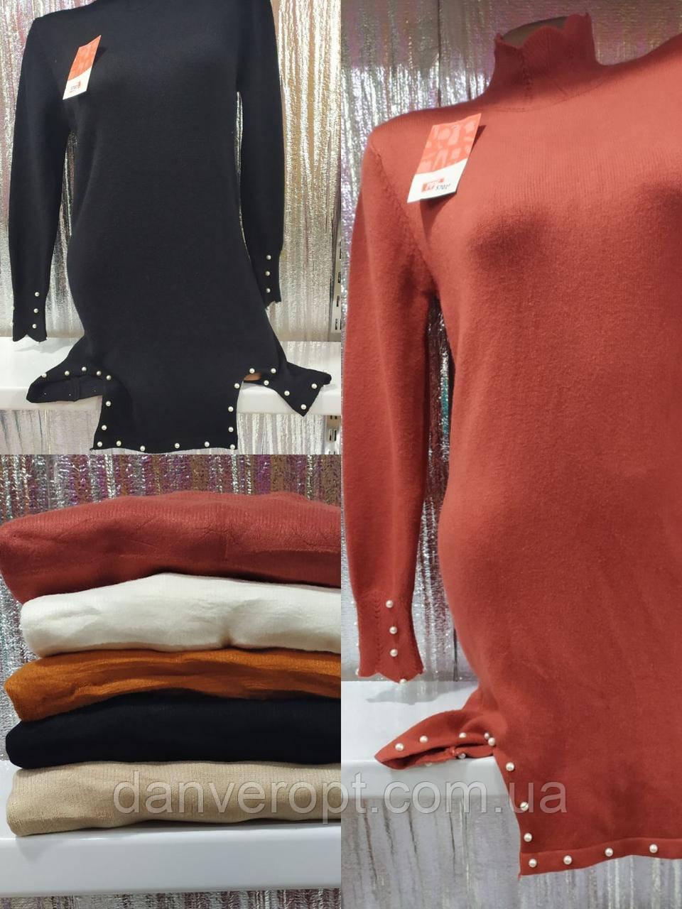 Платье женское модное размер универсальный 44-48 купить оптом со склада 7км Одесса