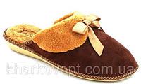 Тапочки Белста коричневые женские