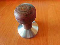 Темпер латунный с деревянной и эбонитовой ручкой 57 мм