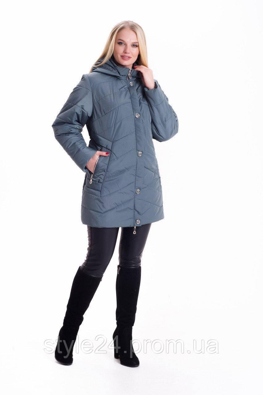 ЖІноча весняна куртка великих розмірів (56-70)