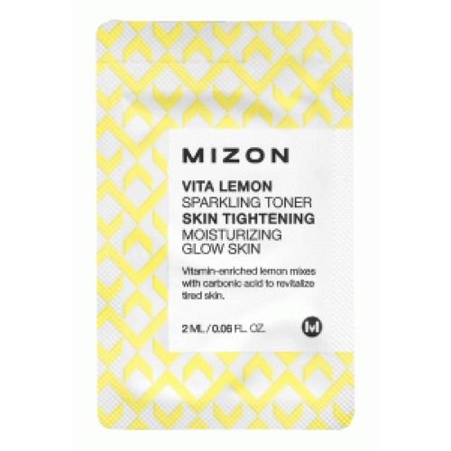 Витаминный тонер для кожи лица Mizon Vita Lemon Sparkling Toner
