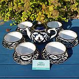 """Сервиз чайный """"ПАХТА"""" 13 предметов. Узбекистан, фото 2"""