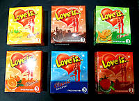 Презервативы ЭКСКЮЗИВ Love is(Лав из)18 шт.Великобритания.+ПОДАРОК.