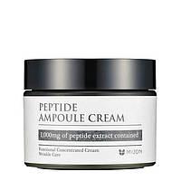 Омолаживающий пептидный крем для лица Mizon Peptide Ampoule Cream, фото 1