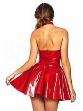 Сексуальное латексное платье, фото 3