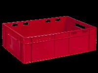 Ящик пластиковый 600х400х190 красный