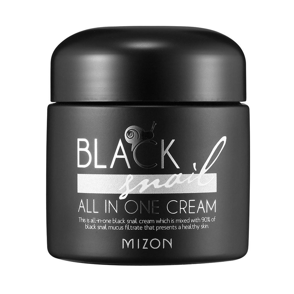 Омолоджуючий крем з муцину равлики Mizon Black Snail All In One Cream 75 мл