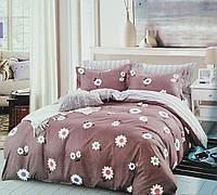 Комплект постельного белья двуспальный Евро Daisy Сатин Фабричная Турция