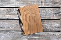 Блокноты с деревянной обложкой. На пружине. Формат А5. Сменный блок. (А00409), фото 1