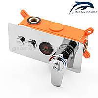 Термостатический смеситель скрытого монтажа для душа GTBL-02.